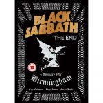 BLACK SABBATH: THE  END - Live Birmingham 4. february 2017.  DVD