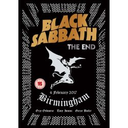 BLACK SABBATH: THE  END - Live Birmingham 4. february 2017.  DVD