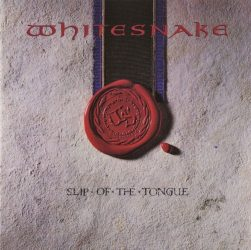 WHITESNAKE: SLIP OF THE TONGUE  CD