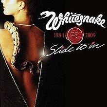 WHITESNAKE: SLIDE IT IN         ( 25. jubileum kiadás CD+DVD)
