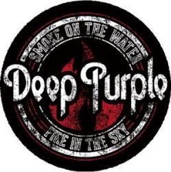 DEEP PURPLE: Logo kitűző