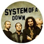 SYSTEM OF A DOWN: Band kitűző