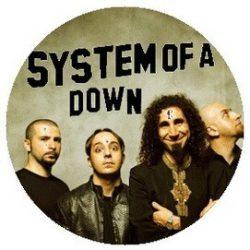 SYSTEM OF A DOWN: Band kitűző