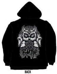 KAPUCNIS PULÓVER: BMTH- Owl   (CIPZÁRAS)