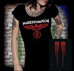 M. MANSON: Eagle női póló