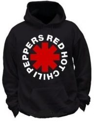KAPUCNIS PULÓVER: RED HOT CHILI PEPPERS-Logo (BEBÚJÓS GILDAN) (RENDELÉSRE)