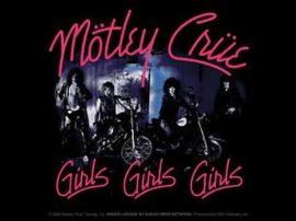 MOTLEY CRÜE: GIRLS GIRLS GIRLS   CD