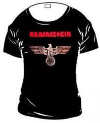 RAMMSTEIN: Eagle (bronz) női póló  (RENDELÉSRE)