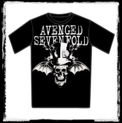 AVENGED SEVENFOLD: Bat Skull póló