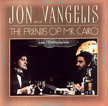JON AND VANGELIS: THE FRIENDS OF MR CAIRO  CD