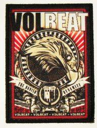 VOLBEAT: Volbeat   kis felvarró (9x12 cm)