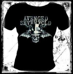 AVENGED SEVENFOLD: Bat Skull női póló (RENDELÉSRE)