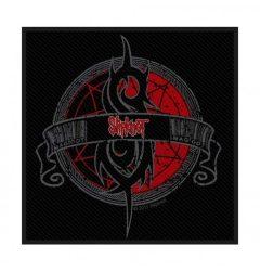 SLIPKNOT: Circle logo 2.  szövött  felvarró (10x10 cm)