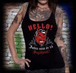 HELLÓ! ISTEN NEM ÉR RÁ... női trikó