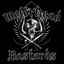 MOTORHEAD: Bastards logo  kis felvarró  (10,5X10,5 cm)