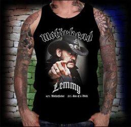 MOTORHEAD: Lemmy férfi trikó  (RENDELÉSRE)