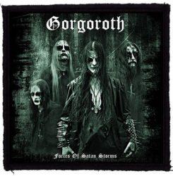 GORGOROTH: Pentagram felvarró (9,5x9,5 cm)