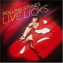 THE ROLLING STONES: LIVE LICKS  2CD
