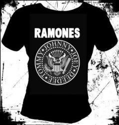 RAMONES  Logo 1. női póló - rocksarok.hu bc707a72a7