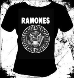 RAMONES: Logo 1.  női póló