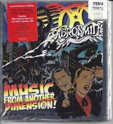 AEROSMITH: MUSIC FROM ANOTHER DIMENSION!  Limited deluxe version 2CD+DVD