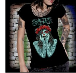SUICIDE SILENCE: Tatoo női póló