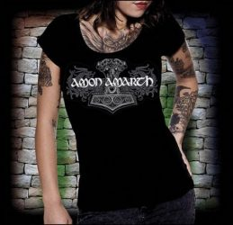 AMON AMARTH: Logo női póló