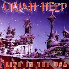 URIAH HEEP: LIVE IN THE USA CD