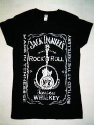 J.D. Rock N Roll női póló (RENDELÉSRE)