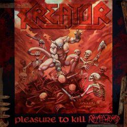 KREATOR: PLEASURE TO KILL  CD   remastered with bonus tracks