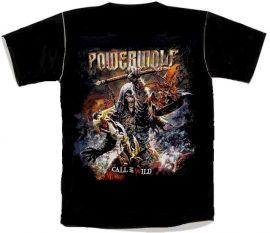 POWERWOLF: Call Of The Wild   póló  (RENDELÉSRE)