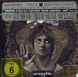 AMORPHIS: CIRCLE  (limited edition CD+DVD)