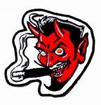 Devil kis felvarró  (hímzett) (RENDELÉSRE)