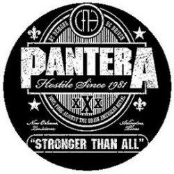 PANTERA: Stronger kitűző