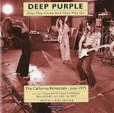 DEEP PURPLE: DAYS MAY COME AND DAYS MAY GO - California 1975.  CD