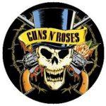 GUNS N ROSES: Logo  kitűző