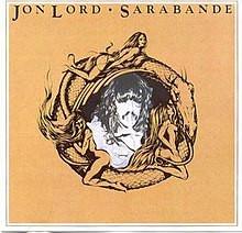 JON LORD: SARABANDE   CD