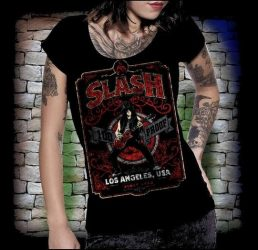 SLASH: Los Angeles női póló