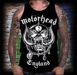 MOTÖRHEAD: England férfi trikó (RENDELÉSRE)