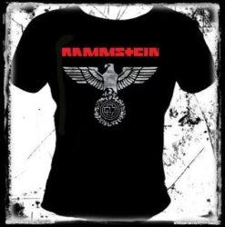 RAMMSTEIN: Eagle (fehér) női póló