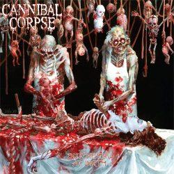 CANNIBAL CORPSE: Butchered at birth   kis felvarró (9,5x9,5 cm)