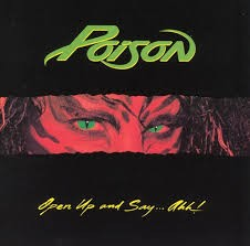 POISON: OPEN UP AND SAY...AHH!  CD