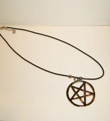 NYAKLÁNC 42.(pentagram 2.)