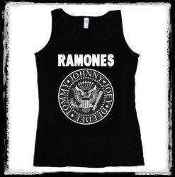 RAMONES: Logo 1.  női trikó