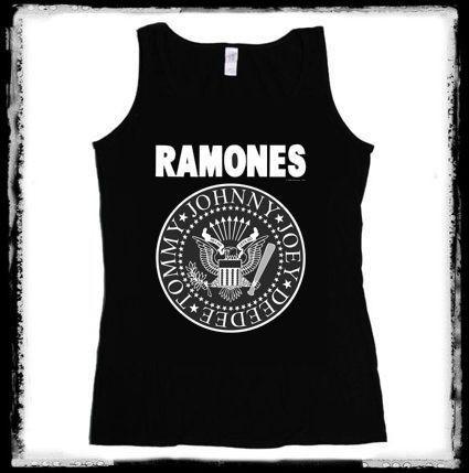 RAMONES  Logo 1. női trikó - rocksarok.hu d16dbcfe40