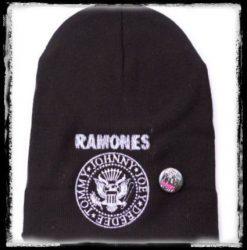 KÖTÖTT SAPKA: Ramones (hosszított fazon)