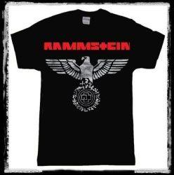 RAMMSTEIN: Eagle (fehér sas)  póló