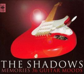 THE SHADOWS: MEMORIES 36 GUITAR MOODS  2CD