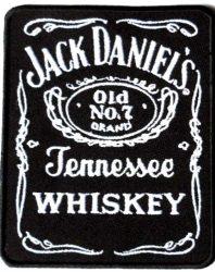 Jack Daniel's kis felvarró  (hímzett) (RENDELÉSRE)