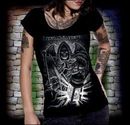 AVENGED SEVENFOLD: Demon női póló  (RENDELÉSRE)